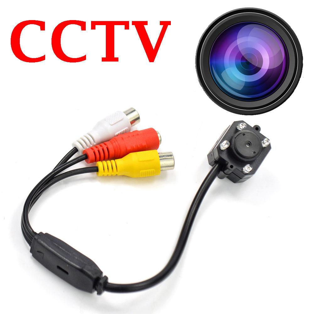 Mini Wired CCTV Security Color Video Audio Camera Surveillance<br><br>Aliexpress