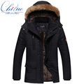 2016 The new winter jacket Men Plus thick velvet warm coat jacket men s casual hooded