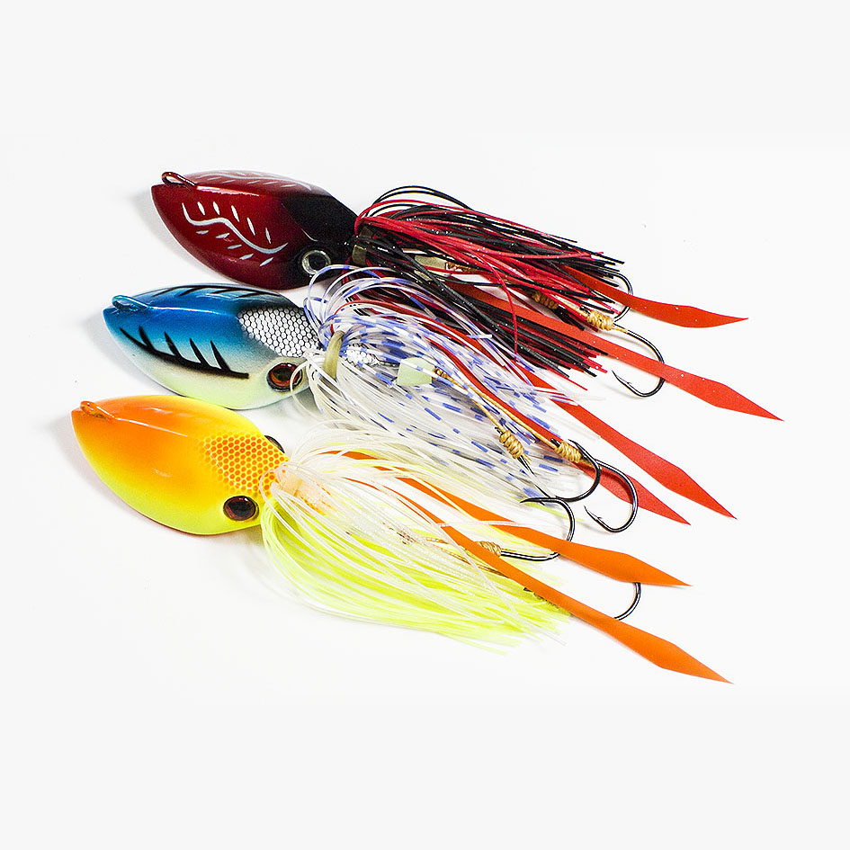 Buy 3pcs 150g countbass salty for Fishing with jigs