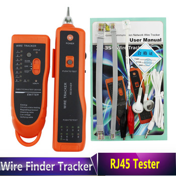 2015 High Quality RJ11 RJ45 Cat5 Cat6 Telephone Wire Tracker Tracer Toner Ethernet LAN Network Cable Tester Detector Line Finder