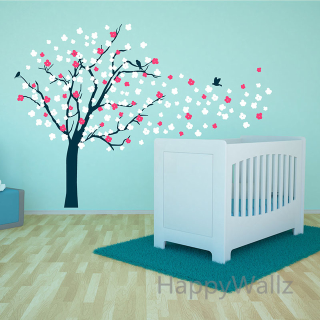 Buy large tree wall stickers colorful - Wall stickers camerette ...
