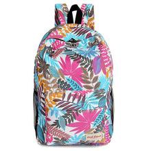 Buy 2015 New Backpacks Teenage Girls School Backpacks Leaves Women Canvas Backpack Students Printing 40% School Bags XA355B for $11.10 in AliExpress store