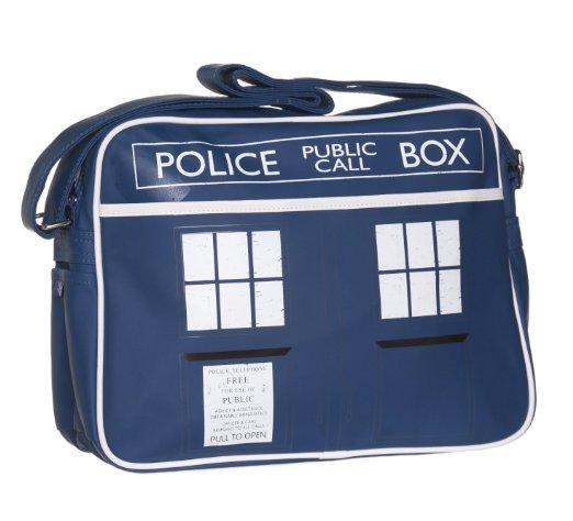doctor who blue tardis shoulder bag doctor who messenger bag kids school bag(China (Mainland))