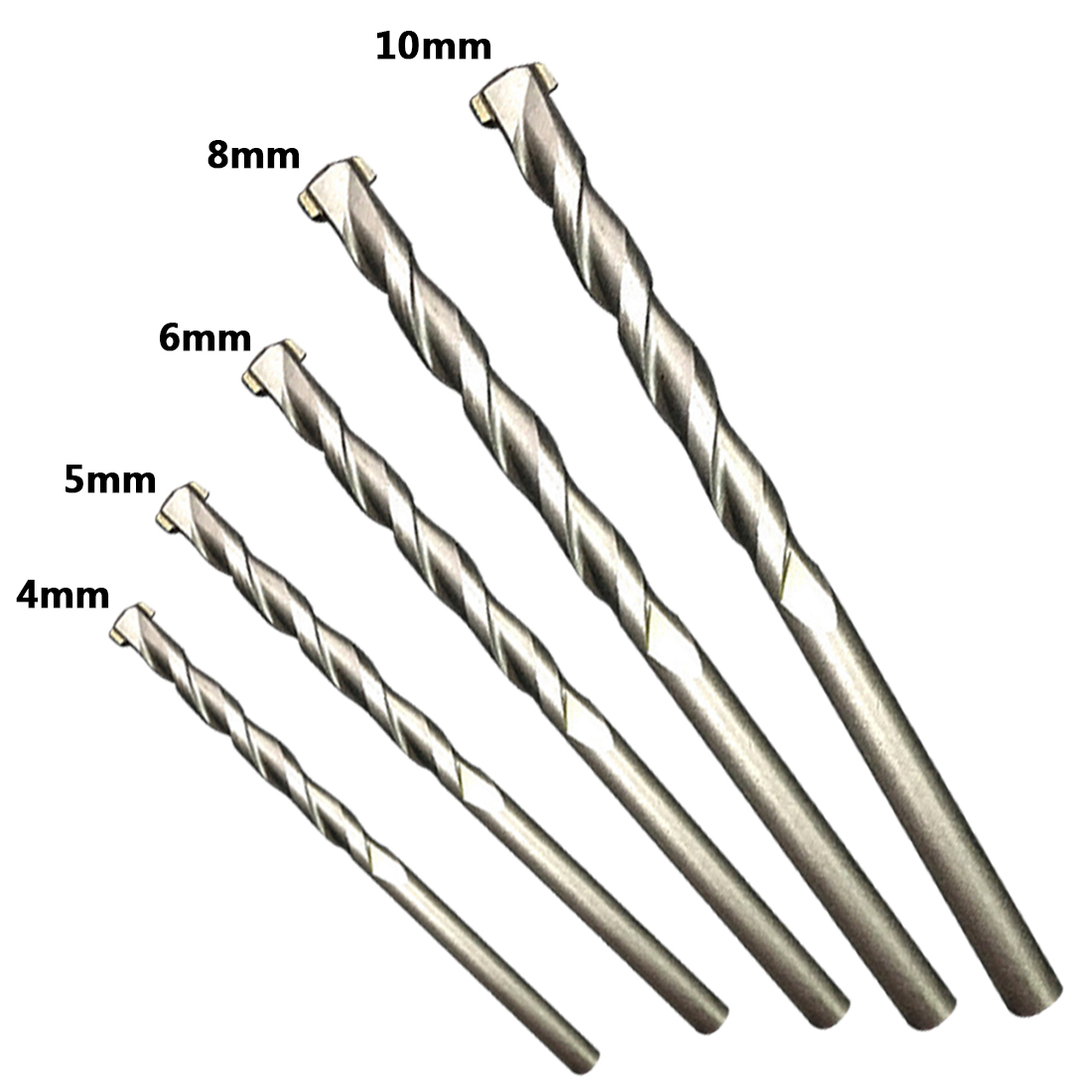 6.2mm 1 Pc Titanium Coated Profestional Straight Shank Twist HSS Drill Bits New