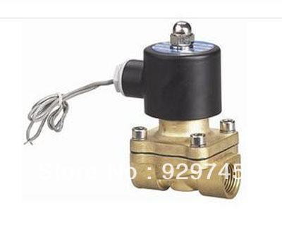 110V AC 1 Electric Solenoid Valve Diesel Gas Water Air 2W250-25(China (Mainland))