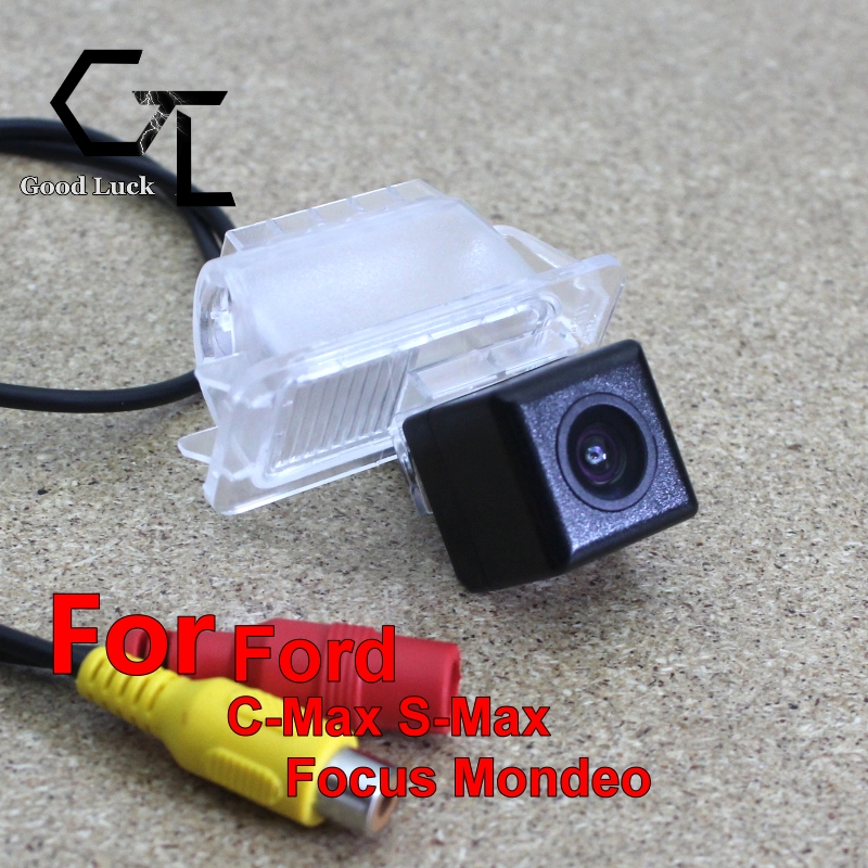 For Ford C-Max S-Max Focus Mondeo 2008 ~ 2014 wireless Car Auto Reverse Backup CCD HD Night Vision Wide Angle Rear View Camera(China (Mainland))