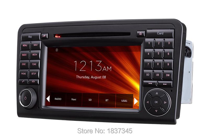china supplier supply 2din car dvd navigation system for Mercedes-Benz ML Class with raido,bt ,gps,rds,sd,usb,dvd(China (Mainland))