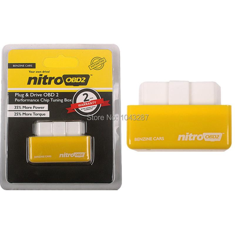 2015 Hot Sale OBD2 Chip Tuning Box NitroOBD2 For Benzine Car Chip Tuning Box Plug and Drive Nitro OBD2(China (Mainland))