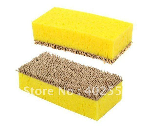 Freeshipping,Car wash cotton with velvet,Clean cotton,Sponge,dropshipping,F515(China (Mainland))