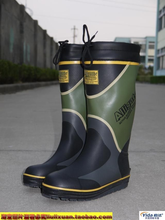 Men's rain boots high rainboots water shoes 50 plus size car rainboots(China (Mainland))