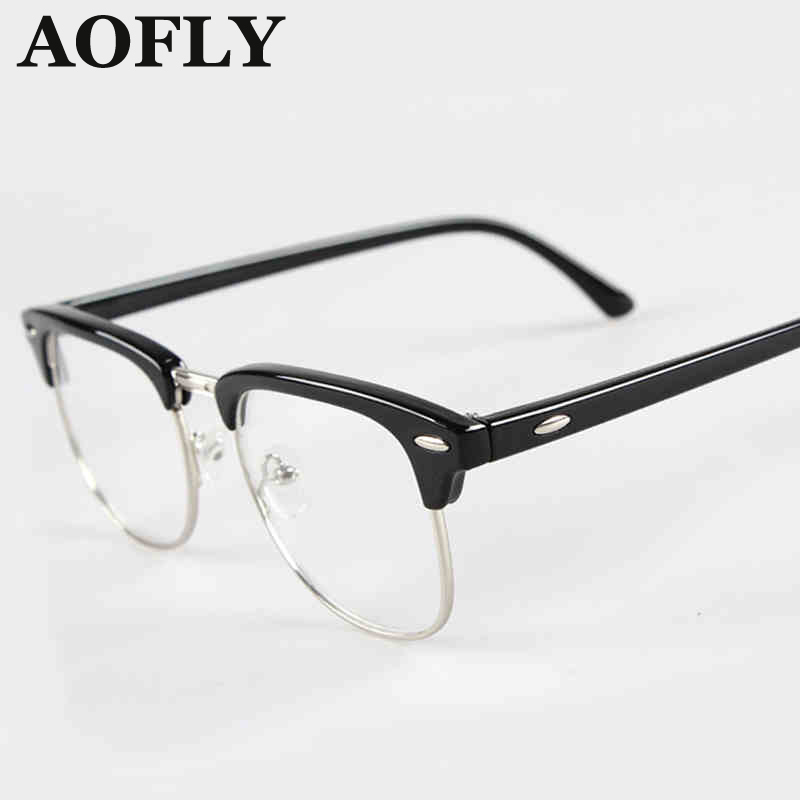 Clear Fashion Glasses Black Pink Frames Glasses Fashion