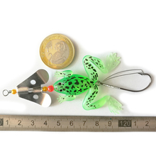 Buy 2 pic 6g LINGYUE brand cute frog fishing lure soft fishing bait toad lure Frog spinner lure Lifelike Fishing Bait lures 50 for $2.22 in AliExpress store