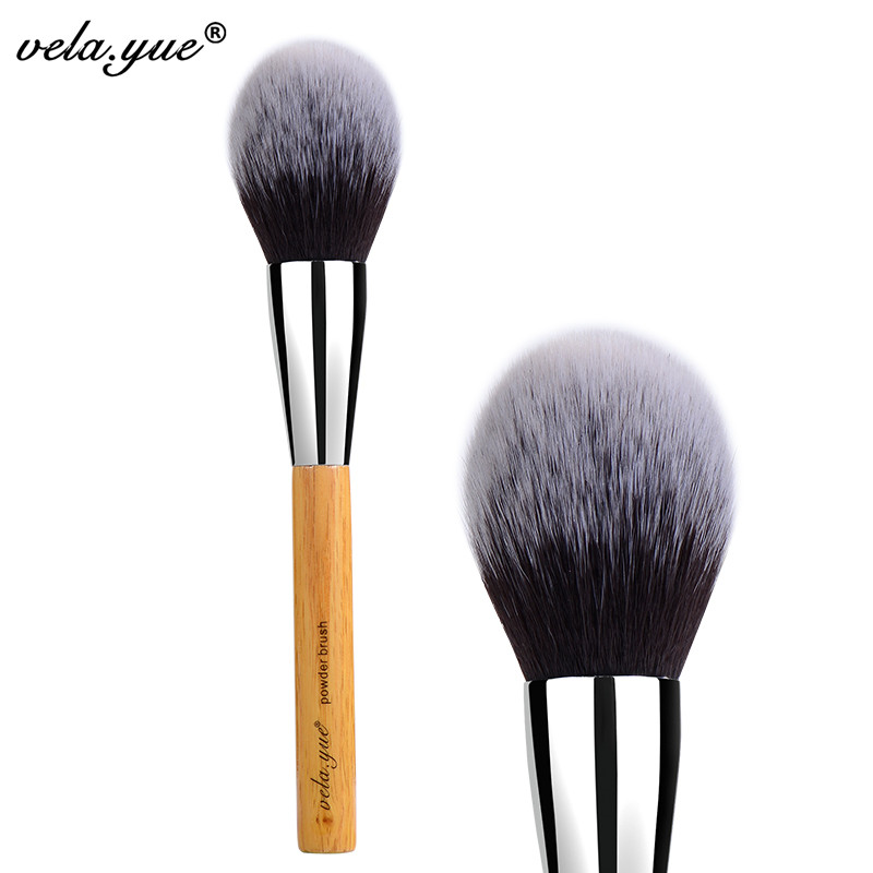 vela.yue Large Powder Brush Synthetic Face Cheek Blush Makeup Tool<br><br>Aliexpress