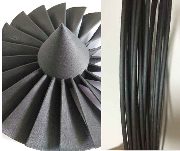100g bag Carbon Fiber 3D Printer Filament Acid Alkaline Resistant high Strengt 1 75mm Special Material