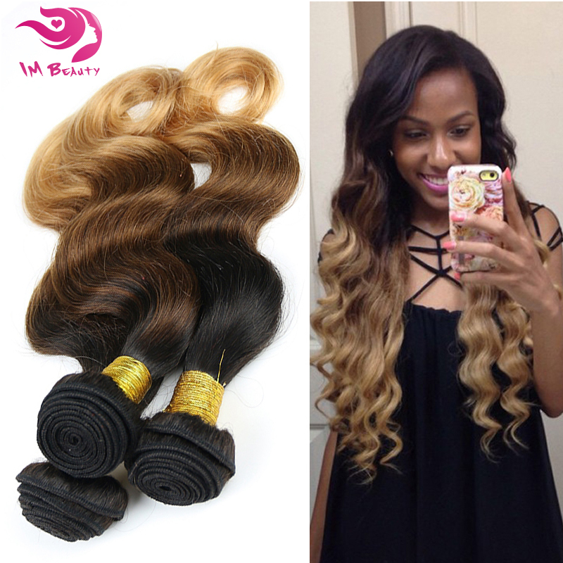 6A Unprocessed Russian Virgin Hair Body Wave Ombre Hair Body Wave Russian Hair Wavy Human Hair Bundles<br><br>Aliexpress