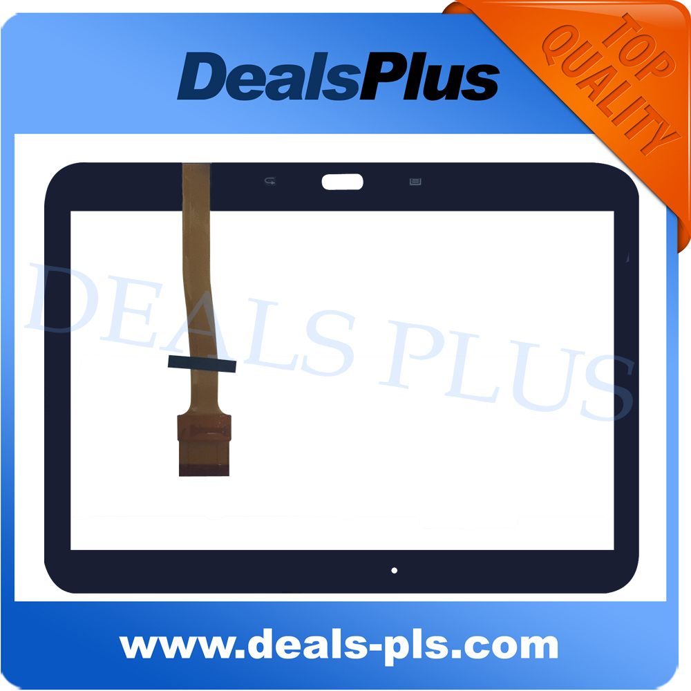 For New Samsung Galaxy Tab 3 10.1 P5200 P5210 Touch Screen Digitizer Glass Sensor Replacement Black free shipping<br><br>Aliexpress