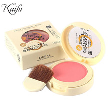 New 2016 Fabulous Genuine LIDEAL 8 colors blush Soymilk matte pearl rouge Blush High Quality Make Up Face Blusher NO.3048(China (Mainland))