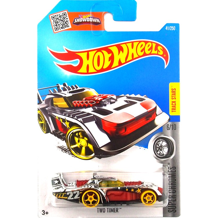 HotWheels Die-casts Tremendous Chromes: TWO TIMER/Toy/Mannequin Automobile/2016#41/250