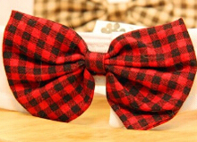 Wedding black / red pet cats and dogs collar pet Bow tie(China (Mainland))
