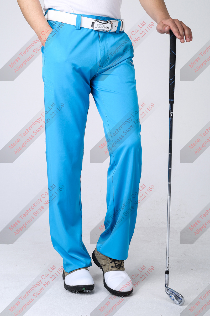 2014 Newest fashion spring and summer Golf men  plaid J. L Golf paragraph long pants breathable, quick-drying<br><br>Aliexpress