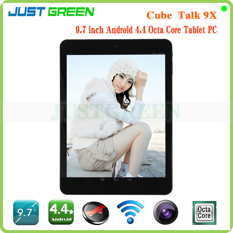 Cube Talk 9X Talk9X U65GT MT8392 Octa Core 2GHz Tablet PC 9.7 inch 3G Phone Call 2048x1536 IPS 8.0MP Camera 2GB/32GB Android 4.4(China (Mainland))