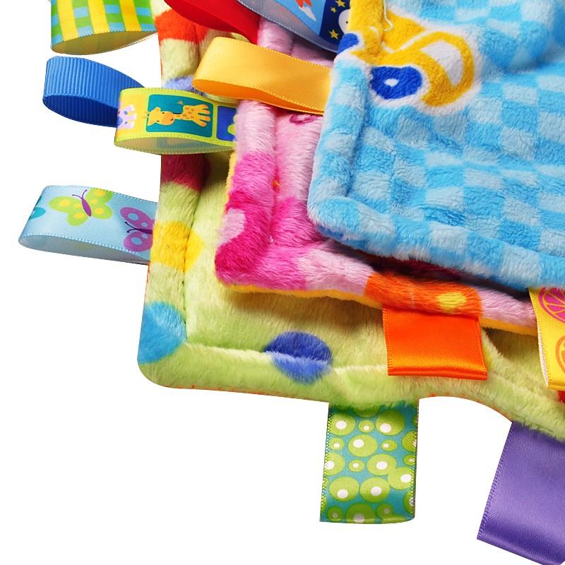 30x30 см Мягкий Площади Плюшевые Ребенка Успокоить Полотенце для 0-3 Лет Младенцев