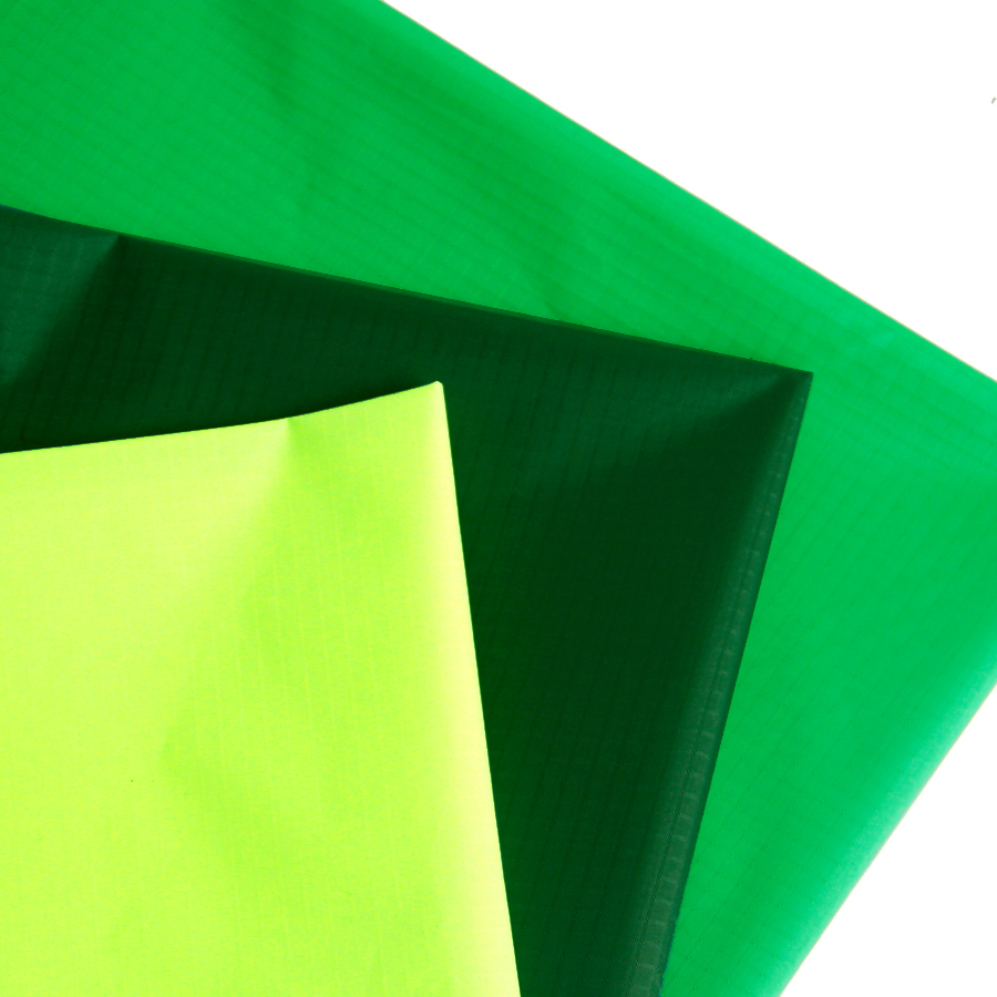 10 Yards long x1.7Yard Wide Green Coated Kite Cloth/Light Ripstop Material Waterproof Nylon Fabric(China (Mainland))