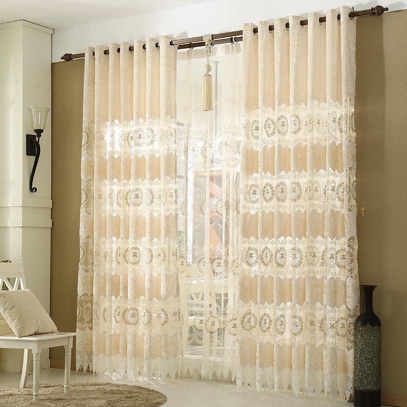 Online kopen Wholesale luxe gordijnen uit China luxe gordijnen ...