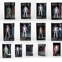 6 inch 12 five star anime Hasbro Star Wars Darth Vader white soldiers up to Moore hands-on