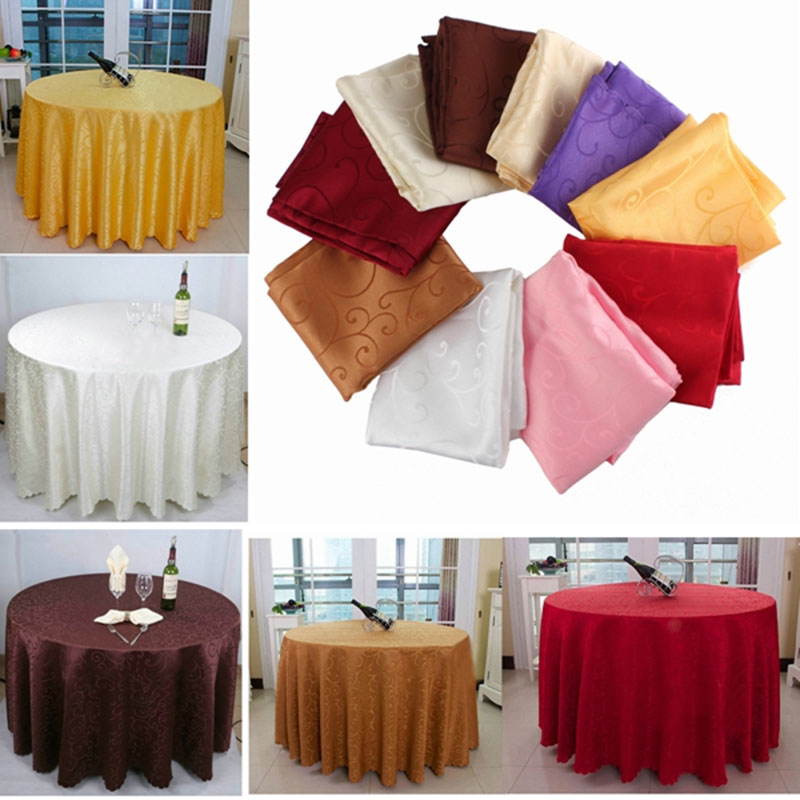 37.5'' Round Table Cover Tablecloth Pattern Wedding Banquet Party Polyester Unique(China (Mainland))