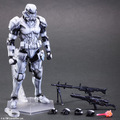 Star Wars Action Figure Toys Play Arts Kai Imperial Stormtrooper Collection Model Anime Star Wars Stormtrooper