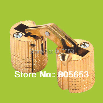 primary color brass invisible hinge for jewelry box or door (CH4211)