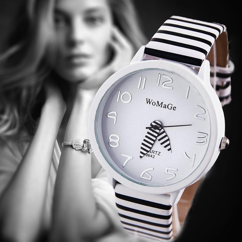 Fashion Zebra Strap Wristwatch Ladies Sports Watch Quartz Watch Women Dress Watches relogio feminino<br><br>Aliexpress