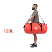 Bolsa seca al aire libre Naturehike 40L-120L bolsa de senderismo fluvial impermeable para acampar al aire libre ciclismo bolsa de deportes NH16T002-S(China)
