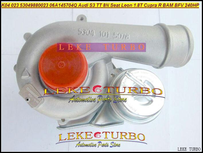 K04 023 53049880023 53049700023 06A145704Q Turbo Turbocharger for Audi S3 TT 8N Seat Leon 1.8T Cupra R BAM BFV 1.8L 240HP (1)