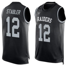 Men's Kenny Jim Stabler Plunkett Marcus Jack Allen Tatum Bo Howie Jackson Long Customs Name & Number Tank Tops!(China (Mainland))