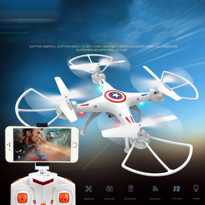 Drone Camera RC Helicopter drone with camera and 4 Axis quadcopter For Photographer Wifi Camera(China (Mainland))