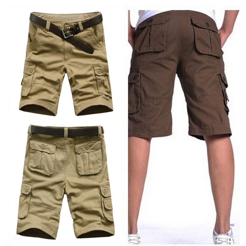 men cargo shorts bermuda masculina de marca 2015 men