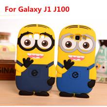3D Cute Cartoon Silicon Despicable 2 Minion Case Samaung Galaxy 2015 J1 J2 J5 J7 E5 E7 A3 A5 A7/2016 J3 A7 - Cosplay Group Store store