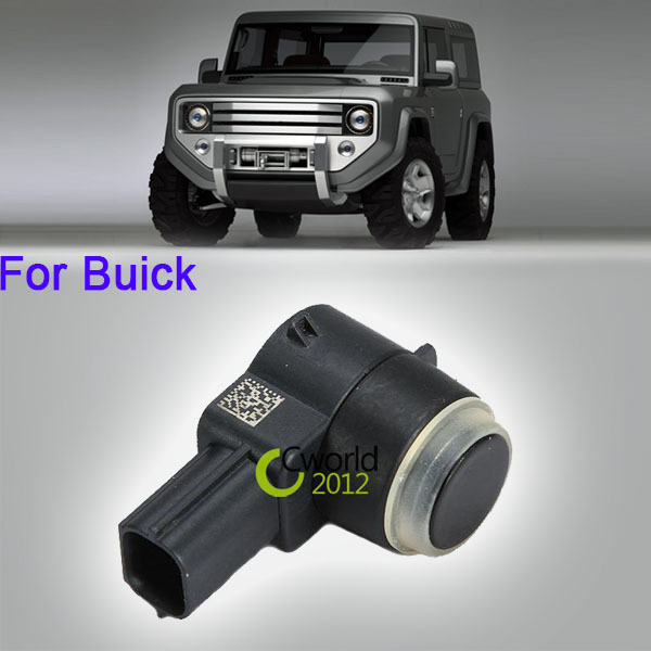 Black Car Reverse Backup Parking Sensor Auto Truck SUV Reversing For Buick GMC Chevy Cadillac 2004~2010(China (Mainland))