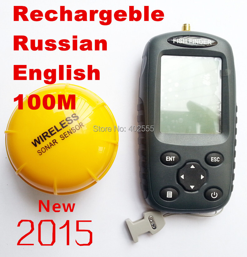wireless fishfinder picture - more detailed picture about ffw718, Fish Finder