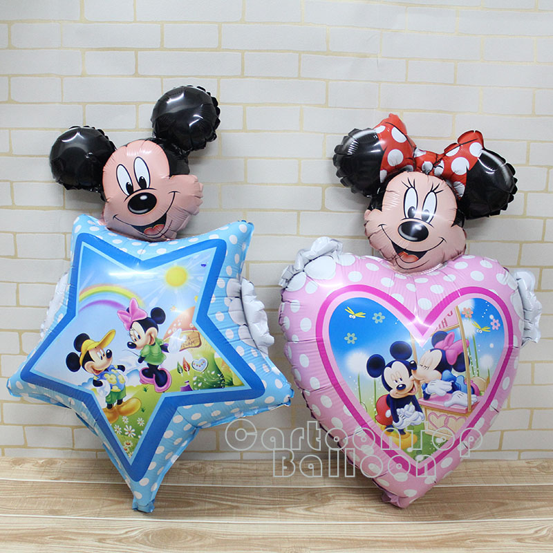 Online get cheap mickey mouse outdoor christmas for Baby mickey mouse decoration