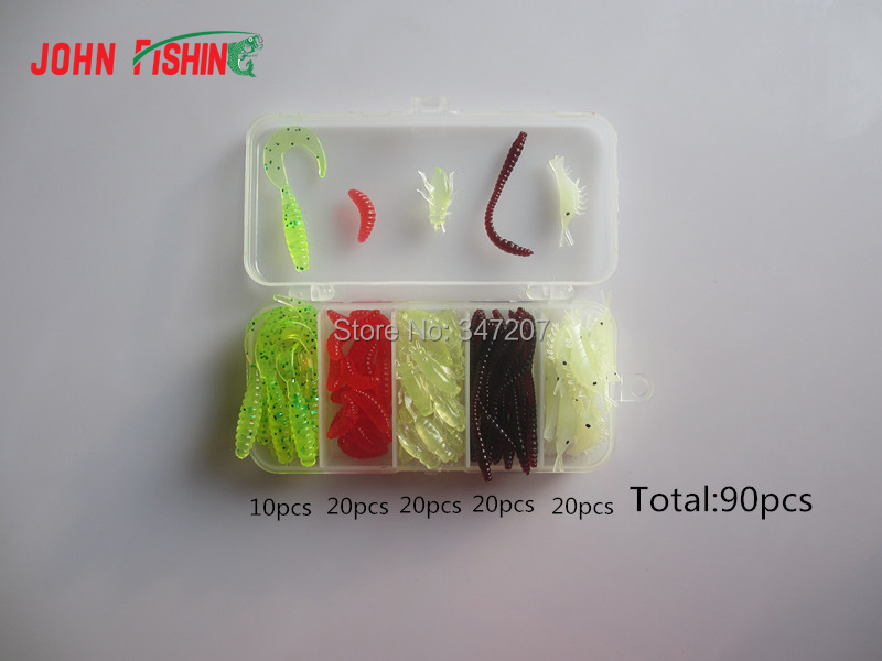 Hot Sell! Soft Lure Fishing Lures Set with Box,Hard Bait /Spoon Lure /Hooks/ Accessory Set Carp Fishing Lure(China (Mainland))