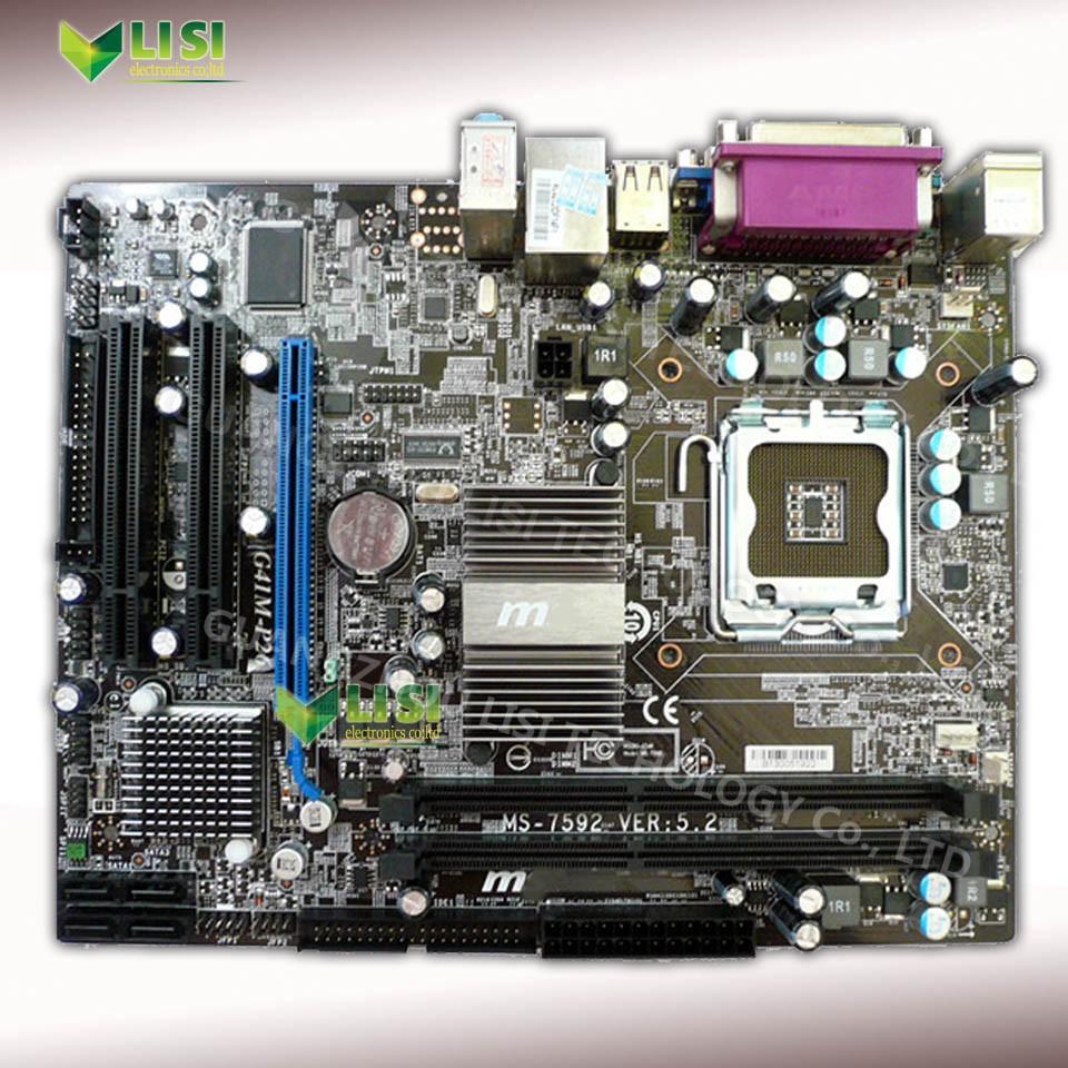 Wholesale Second Hand For Msi G41m P26 G41 Desktop Motherboard Ms Gigabyte