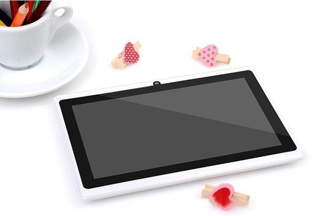 Большой диктор укрепить том 7 дюймов android-автомобильный планшет pc 1 ГБ Rom 16 ГБ оперативной памяти камера четырехъядерных процессоров золотой цвет поддержка Google играть