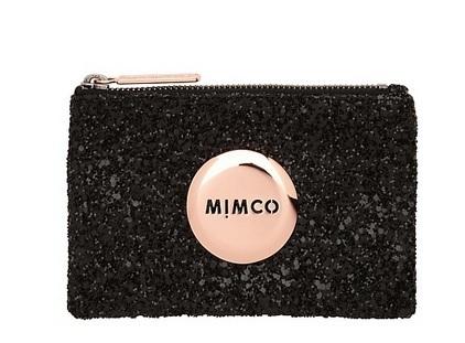 Бесплатная доставка mimčo черный искры РозовыйЗолото знак прекрасный небольшой мим ...