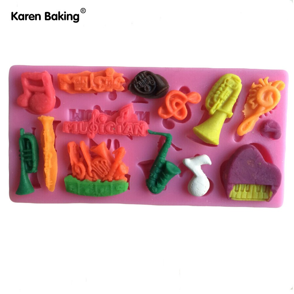 Cake Decorations Musical Instruments : Musical Instrument Cakes Promotion-Shop for Promotional ...