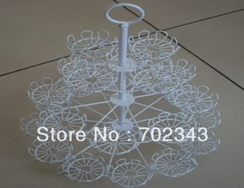 New Cupcake Stand Tree Holder Muffin Serving Birthday Cake Display Stand 3 Tier