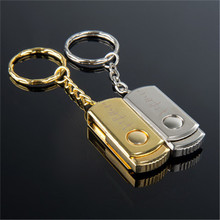 USB stick 100% real capacity Premium Compact Stainless steel USB Flash Drive16G Pen Drive Thumb Disk Memory Stick S110(China (Mainland))