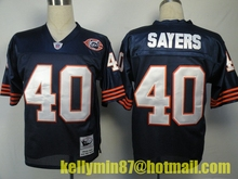 AA Chicago Bears,Jim McMahon,William Perry,Walter Payton,Dick Butkus,Gale Sayers,Mike Singletary,Throwback for men(China (Mainland))